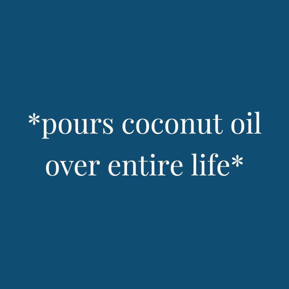 Remove water marks with coconut oil, amongst other uses. – Alice in ...