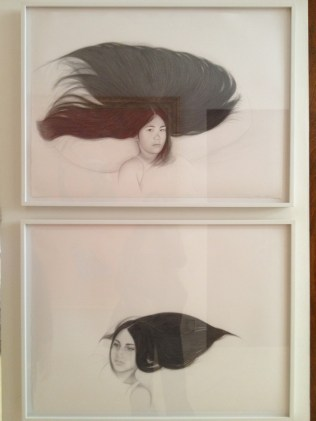 Portraits of the Schwartz girls