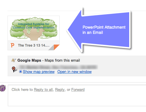 converting a powerpoint attachment to google slides teacher tech