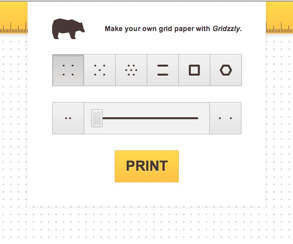 print your own graph paper teacher tech