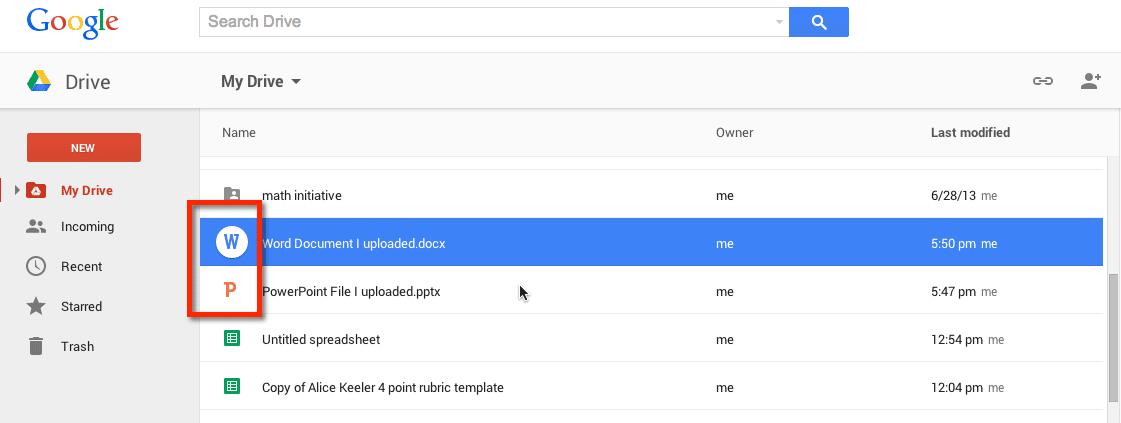 New Google Drive: Setting Your Upload Options - Teacher Tech