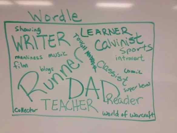 Handmade Wordle