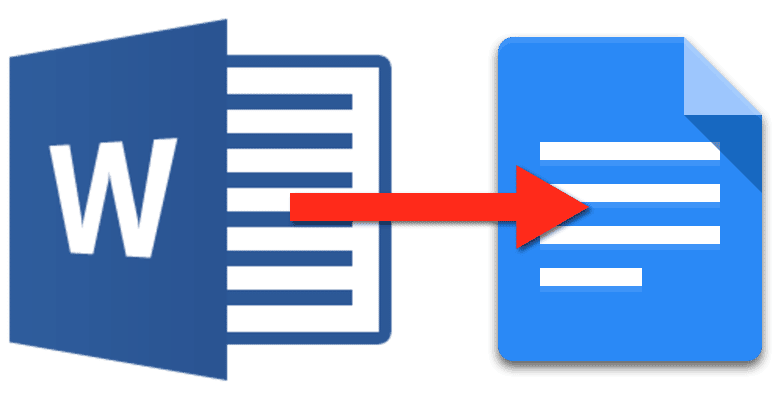 Convert from Word to Google Docs