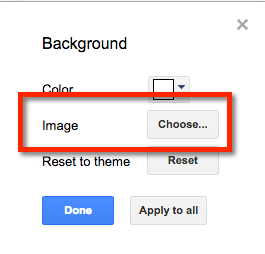 create a background image or watermark on a google doc teacher tech