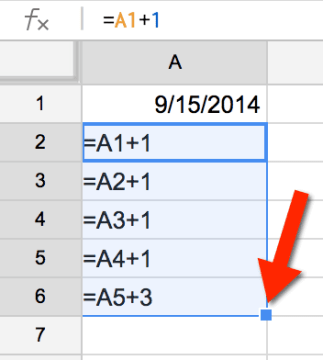 google sheets copy the formulas