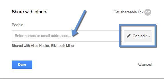 how to move a google doc into a folder