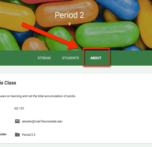 Google Classroom About
