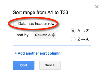 4 Tips For Sorting In Google Sheets Teacher Tech