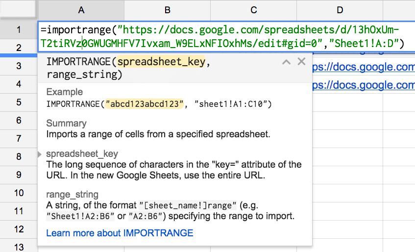 Importrange google sheets alice keeler