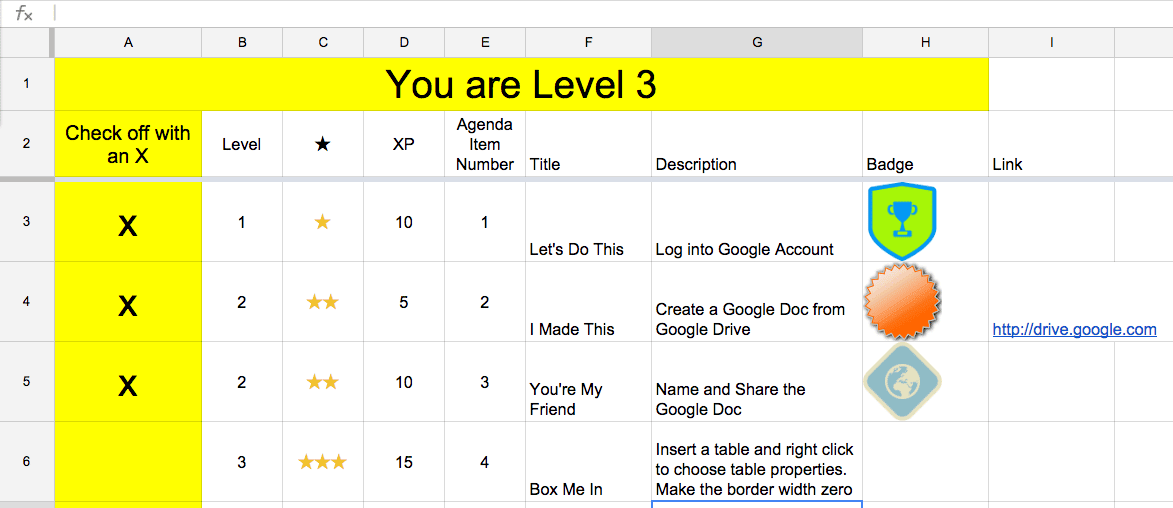 Gamify Your PD: Badges and Level Up - Teacher Tech