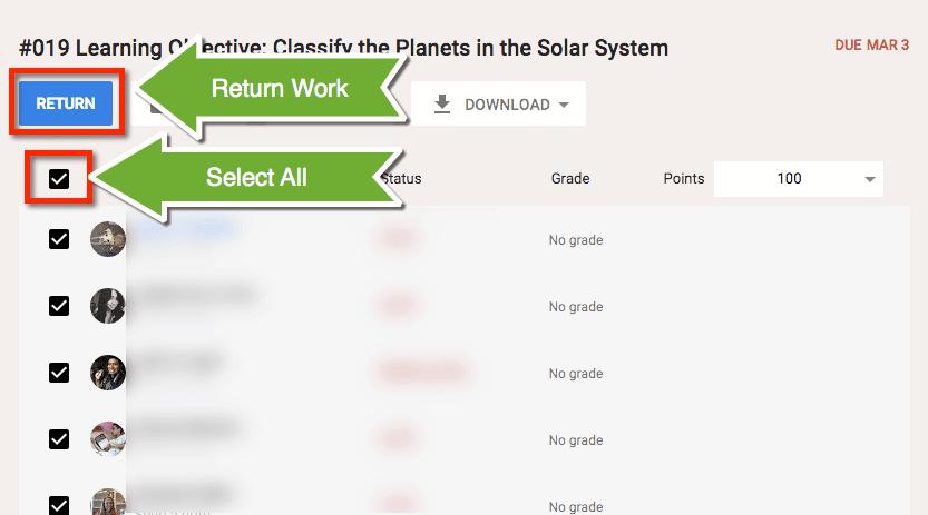 Return Work