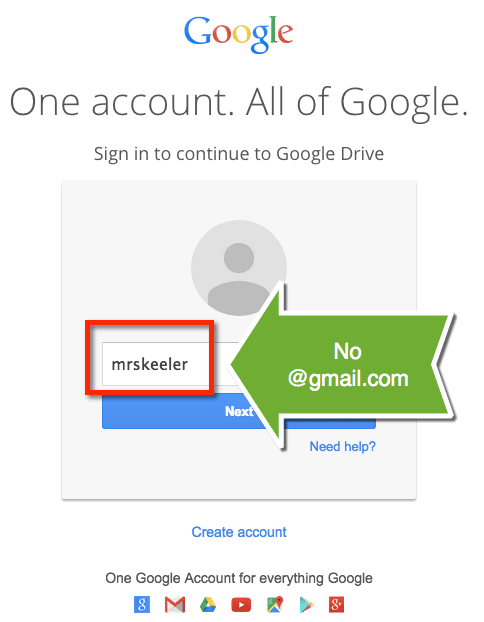 Signing into google accounts no gmail necessary teacher tech gmail sign in stopboris Choice Image