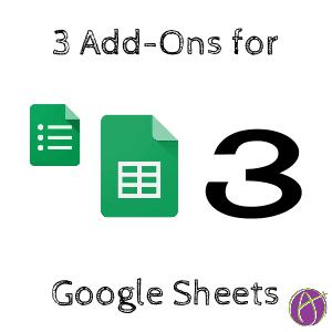 Google Sheets: 3 Add-Ons to Try - Teacher Tech