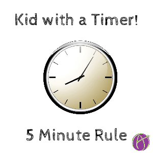 Kid with a timer
