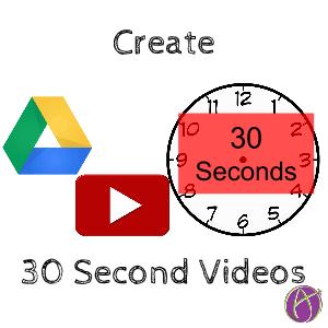 30 second videos