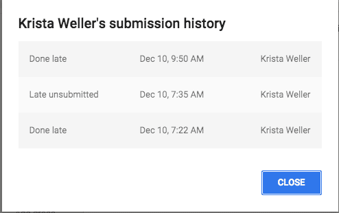 Submission History