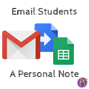 Email Each Student a Note