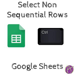Select non sequential rows