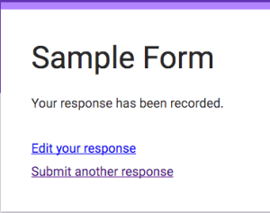 edit your response in google forms