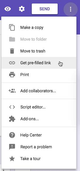 get pre-filled link google forms