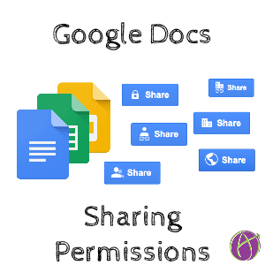 Sharing Settings in Google Docs