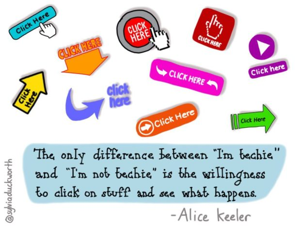 Sylvia Duckworth Alice Keeler quote