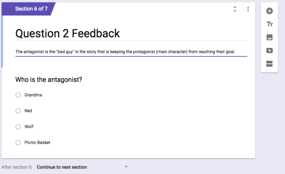 feedback instruction