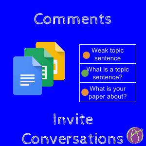 Comments invite Conversations annotate PDF