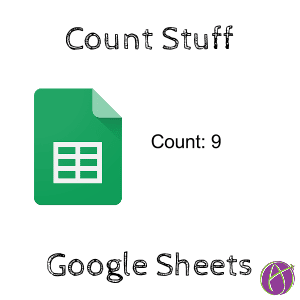 Count Google Sheets count