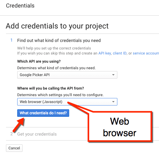 choose web browser
