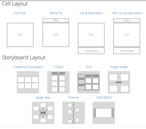 storyboard that graphic organizers
