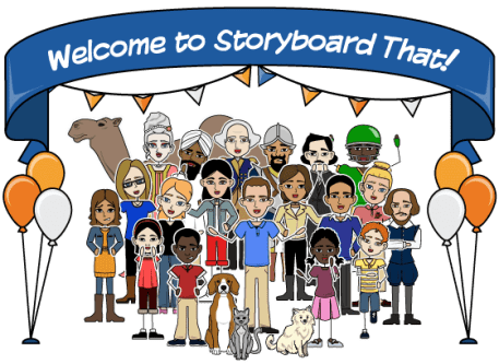 welcome to storyboard that
