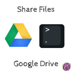 Sharing in Google Drive
