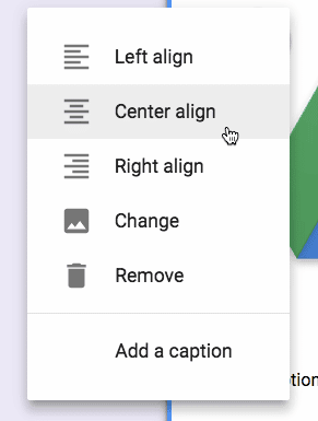 center change or remove an image in a google form