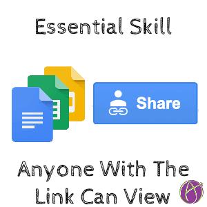 Essential skill share google docs