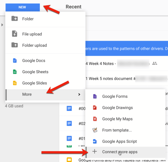 connect more apps in google drive