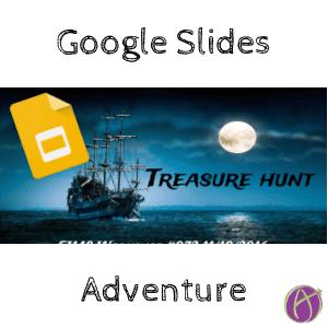 google slides choose your own adventure