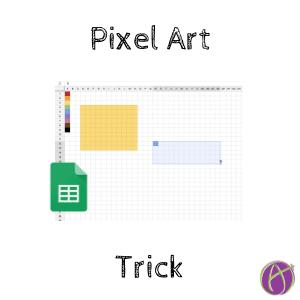 pixel art trick