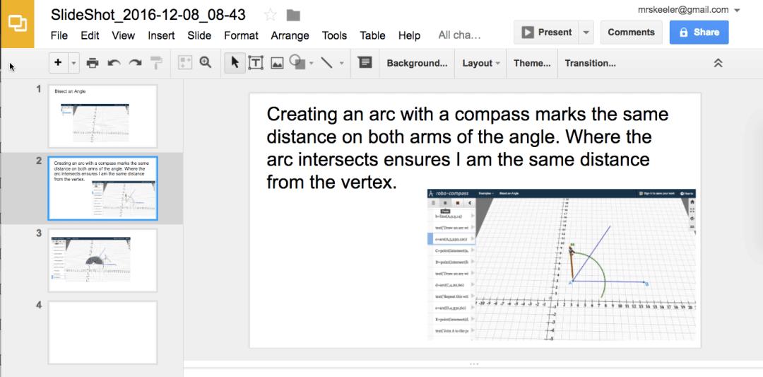 chrome extension slideshot for google slides teacher tech