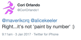 not paint by number cori orlando