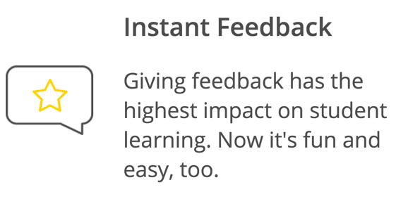 instant feedback impacts learning