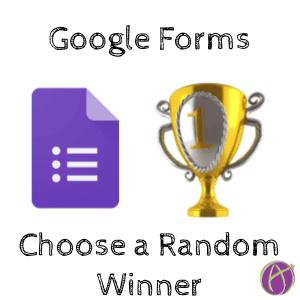 google forms choose a random winner