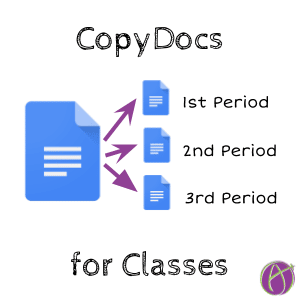 CopyDocs for Classes by Alice Keeler