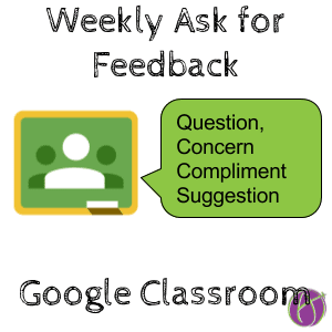 Google Classroom: Check In with Students - Teacher Tech