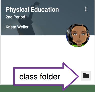class folder icon