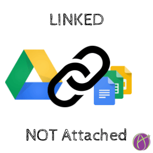 linked not attached