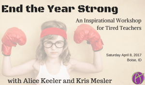 End the Year Strong Meridian, ID Saturday, April 8, 2017