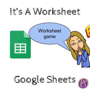 worksheet game