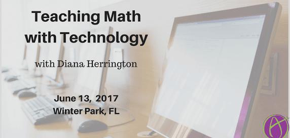 Diana Herrington teach math with tech