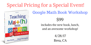 Google Math Book Workshop